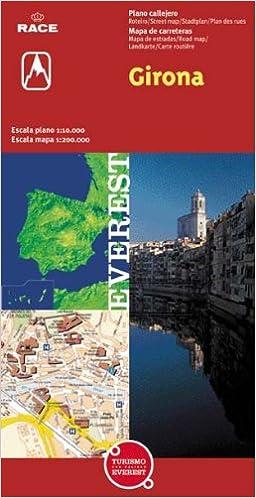 Girona Plano Callejero Mapa De Carreteras Vv Aa 9788424101282