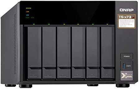 QNAP TS-673 Ethernet Torre Negro NAS - Unidad Raid (Unidad de ...