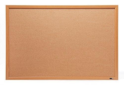 4' Cork Boards - Bulletin Board, Cork Board,4 ' x 3', 48 x 36, Oak Wood Finish Frame