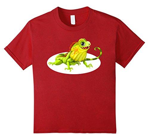 Kids Bearded Dragon Cartoon Shirt Lizard Pet Owner T-Shirt 8 (Bearded Dragons In Costumes)
