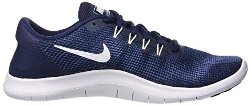 Blue Run Scarpe Navy Running Recall Laufschuh Uomo Multicolore 001 Herren White Flex 2018 Midnight Nike qSwUg7