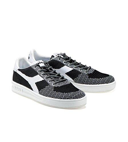 Diadora B.Elite Weave, Sneaker Uomo Nero