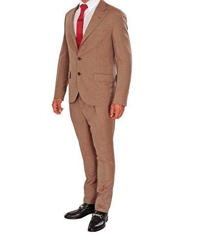 Brunello Cucinelli Abito Uomo Marrone Blazer, pantaloni Marrone scuro 50 normale