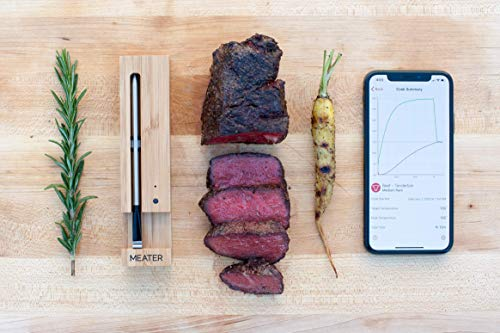 Original MEATER   33ft Range True Wireless Smart Meat Thermometer for The Oven, Grill, Kitchen, BBQ, Sous Vide…