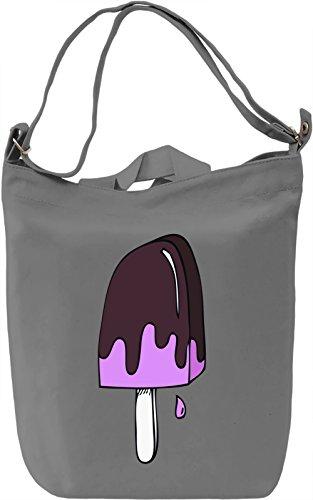 Purple Ice Cream Borsa Giornaliera Canvas Canvas Day Bag| 100% Premium Cotton Canvas| DTG Printing|