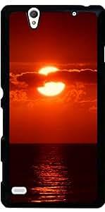 Funda para Sony Xperia C4 - Vacaciones En La Playa Puesta De Sol by WonderfulDreamPicture