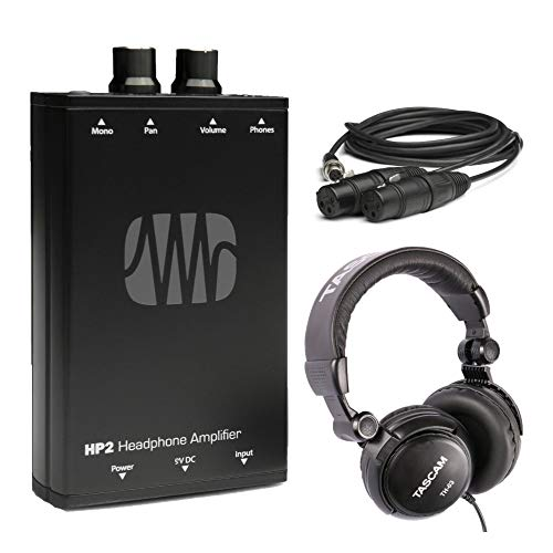 (PreSonus HP2 Headphone Amplifier with Studio Headphones Bundle)