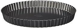Wilton 2105-450 Nonstick Round Tart Quiche Pan, 11 x 1 1/8 Inch