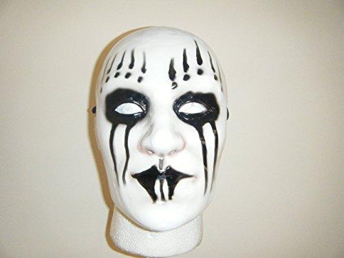 WRESTLING MASKS UK Men's Slipknot- Joey - - Ahig - Full Face Mask One Size White by Wrestling