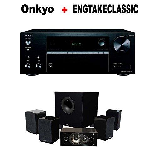 Onkyo-Versatile-Audio-Video-Component-Receiver-Black-TX-NR575-Energy-51-Take-Classic-Home-Entertainment-System-Set-of-Six-Black-Bundle