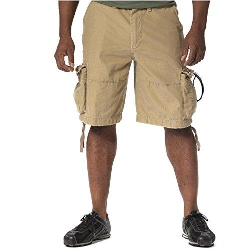 Rothco Vintage Infantry Shorts, Khaki, 3X ()