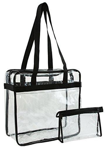 Ensign Peak Clear Zipper Tote product image