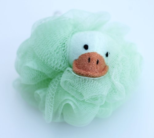 Bath Tub Safari Wild Animal Sponge, Green Frog, 3-sponges