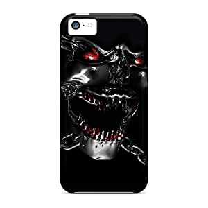 Premium Skull Heavy-duty Protection Case For Iphone 5c