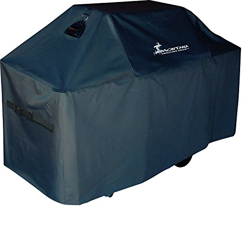 Montana Grilling Gear PTC-LH54 Grill Cover, 54 inch, Black