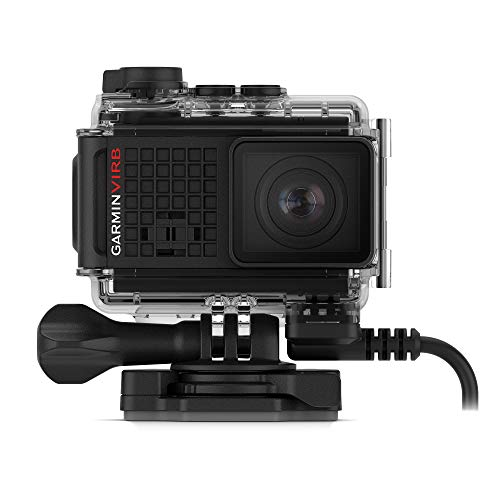 Garmin VIRB Ultra 30 with Powered Mount, 4K Action Camera wi