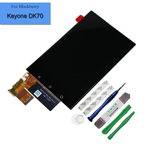for BlackBerry Keyone DK70 DTEK70 BBB100-1 BBB100-2 BBB100-3 BBB100-4 BBB100-6 Assembly LCD Display Touch Screen Digitizer Replacement with Tools by Melphyreal
