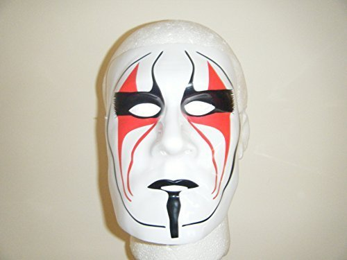 Wrestling Masks Uk Sting The Vigilante Wrestling Plastic Mask for $<!--$44.99-->