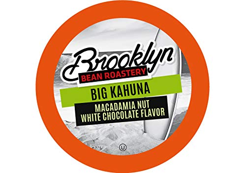Brooklyn Beans Big Kahuna Coffee Pods, Compatible with 2.0 K-Cup Brewers, 40 Count ()