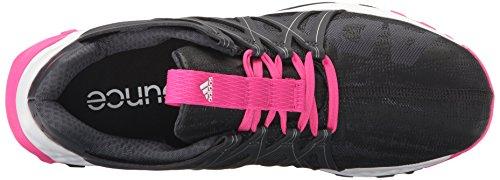 Adidas Womens Vigore Rimbalzo W Trail Runner Grigio Scuro / Nero / Rosa Shock S
