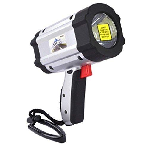 Peak PKC0TV 200 Lumen 1-LED 3-Watt Rechargeable Cordless Spotlight w/AC & Car Charger consumer electronics - 3 Watt Rechargeable Spotlight