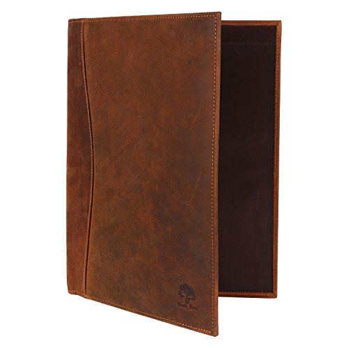 Leather Deluxe Writing Padfolio (Leather Business Portfolio Padfolio File Folder Gift for him)