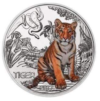 Austrian Mint Österreich Tiertaler Tiger 2017