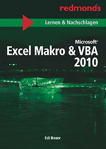 EXCEL 2010 MAKRO & VBA LERNEN UND NACHSCHLAGEN A5: redmond's Taschenbücher Lernen und Nachschlagen