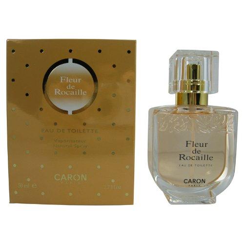 CARON PARIS Fleur De Rocaille Eau de Toilette Spray, 1.7 Fl Oz ()
