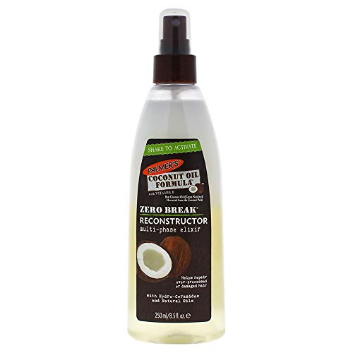 - Palmer's Coconut Oil Zero Break Reconstructor By Palmers for Unisex - 8.5 Ounce Treatment, 8.5 Ounce