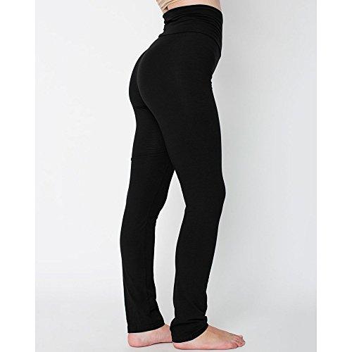 American Apparel Womens/Ladies Yoga Pants (L) (Black)