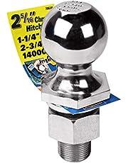 "Reese Towpower 7063400 2-5/16"" Chrome Class V Hitch Ball, Multi"