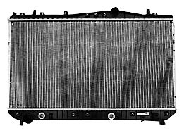 tyc-2788-suzuki-forenza-1-row-plastic-aluminum-replacement-radiator