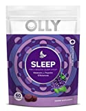 Health & Personal Care : OLLY Sleep Melatonin Gummy, All Natural Flavor and Colors with L Theanine, Chamomile, and Lemon Balm, 3 mg per serving, 30 Day Supply (60 gummies)
