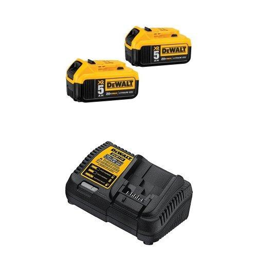 DEWALT DCB205 2 Lithium Battery Charger