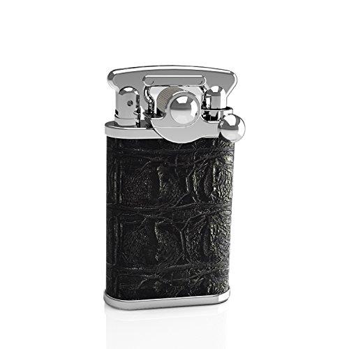 Vintage Cigarette Lighter, VVAY Old Fashioned Antique Petrol Oil Lighter for Man, Gift Package - Style Cigarette Lighter