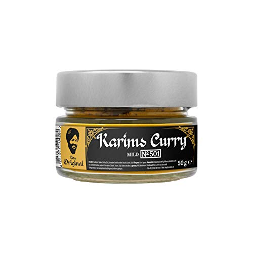 Hansefein Curry (Karims Curry mild, 50 GR)