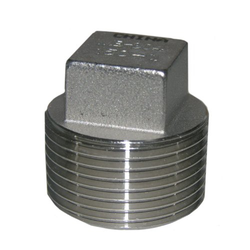 Lasco stainless steel plug with inch male