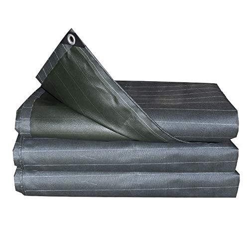 信仰消毒する守るQIANGDA トラックシート荷台カバープラットフォームオーニング スーパー防水 防湿 耐酸化性 (厚さ0.5mm) 複数のサイズ (サイズ さいず : 4.8 x 4.8m)
