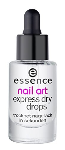 essence | Nail Art Express Dry Drops | Fast-drying Formula with Vitamin E and Almond Oil -