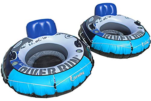Heavy Duty River Tube Cover (2 Pack) | Compatible with Intex River Run, Bestway Rapid Rider, Inflatable River Tubes ()
