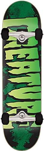 "Creature Logo Large Complete Skateboard,Multicolored,8.25"" L x 31"