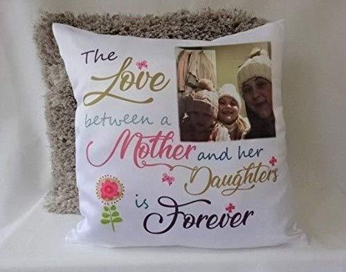Yohoba - Cojín de Fotos Personalizado para Madre e Hija ...