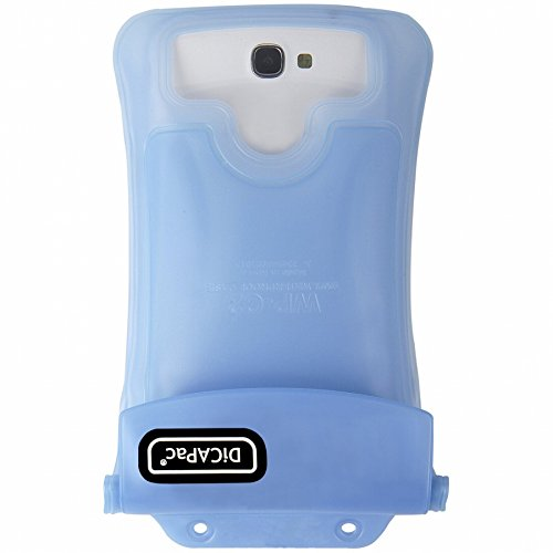 DiCAPac WP-C2 SkyBlue Premium Series Waterproof Case for Smartphones up to 5.7-Inches (Wp Japanese)