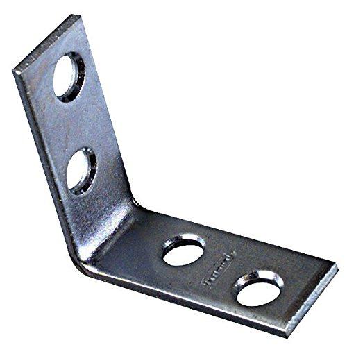 National/Stanley Hardware 22010549 Corner Brace 1-1/2'' X 5/8'' - Zinc
