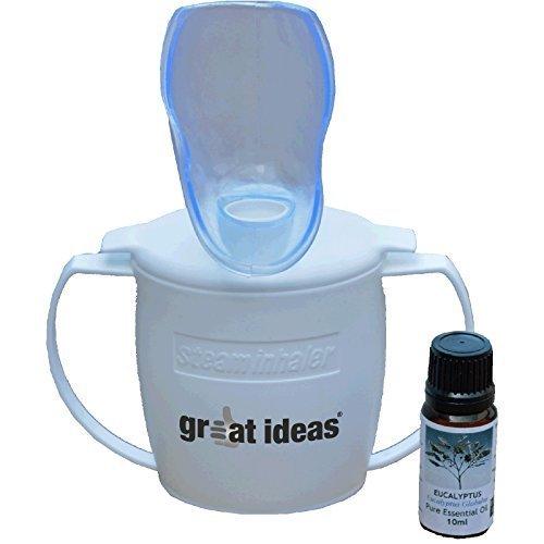 Dampfinhalator - Beruhigen sie Nebenhöhlenschmerzen und befreien sie mühelos verstopfte Nasen!