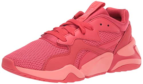 PUMA Women's NOVA Sneaker, Shell Pink-Hibiscus, 6.5 M US ()