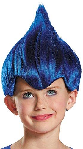 Dark Blue Wacky Child Wig, One Size Child -