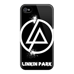 Best Hard Phone Cover For iphone 4s (OiR2034tuvl) Support Personal Customs Realistic Linkin Park Skin