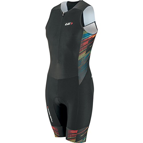 Louis Garneau Men's Pro Carbon Tri Suit (Multi, (Louis Garneau Tri Suit)